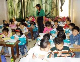 Trường tiểu học bán trú tại... nhà dân