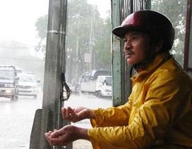Ngày đêm bám đường canh… mưa