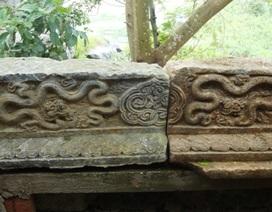 Xây chùa, phát hiện nhiều hiện vật đá cổ