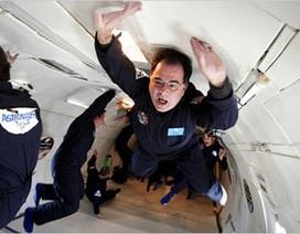 Chuyến bay không trọng lực khơi gợi niềm say mê khoa học