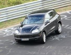 Porsche Cayenne 2011 trên đường thử