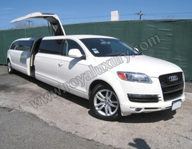 "Audi Q7 Limousine ""tung cánh hải âu"""