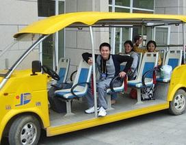 Người dân sẽ được dạo quanh hồ Gươm bằng xe điện