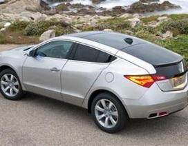Xe Acura ZDX bị thu hồi do lỗi túi khí