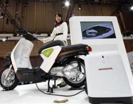 Honda ra mắt xe máy chạy điện EV-neo