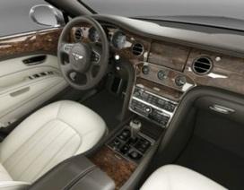 Quy trình làm nội thất xe Bentley Mulsanne