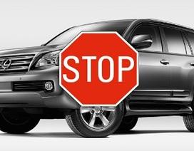 Lexus mở rộng phạm vi ngừng bán xe GX 460