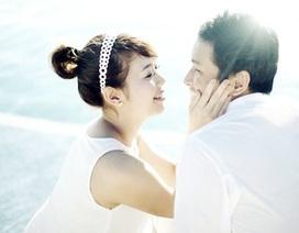 Ảnh cưới lãng mạn của MC Diệp Chi