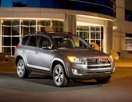 Toyota phát triển xe RAV4 chạy điện