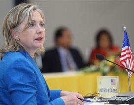 Ngoại trưởng Clinton: Mỹ là đối tác tích cực của ASEAN