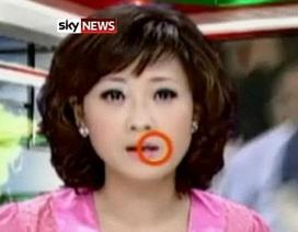 Phát thanh viên truyền hình nuốt muỗi trên chương trình trực tiếp