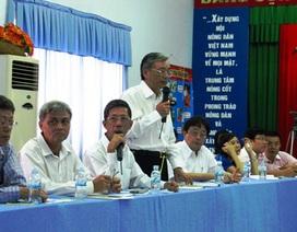 Thương lượng bất thành, nông dân Cần Giờ kiện Vedan ra tòa