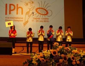 5 học sinh thi Olympic Vật lý quốc tế đều đoạt huy chương