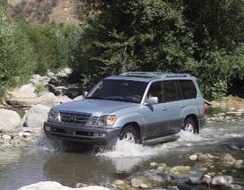 Toyota thu hồi xe Lexus LX 470