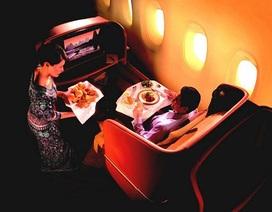 Ghé thăm ghế máy bay hạng nhất của các hãng hàng không
