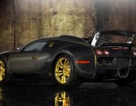 Mạ vàng, bọc sợi carbon cho Bugatti Veyron