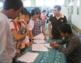 Ngày hội tư vấn học nghề và việc làm đầu tiên tại Nghệ An