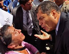 Tổng thống bị cảnh sát tấn công, Ecuador trong tình trạng báo động