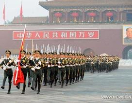 15.000 người dự lễ kéo cờ trên Quảng trường Thiên An Môn