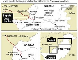 27 xe chở dầu của NATO bị tấn công ở Pakistan