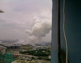 Hai container pháo hoa phát nổ ở Mỹ Đình, 4 người tử vong