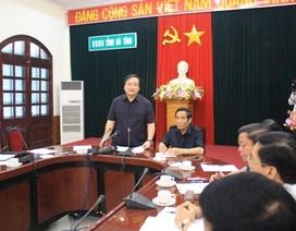 Phó Thủ tướng Hoàng Trung Hải thăm vùng lũ Hà Tĩnh
