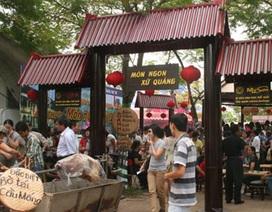 Nhiều khám phá trong liên hoan ẩm thực Hà Thành