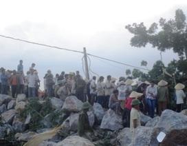 Thanh Hóa: Lở mỏ đá, 3 người thương vong