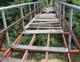 Cầu treo… treo bẫy