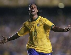 Ronaldinho bất ngờ được triệu tập trở lại Selecao