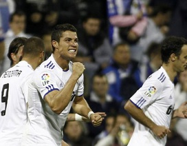 C. Ronaldo giúp Real Madrid ngược dòng hạ Hercules