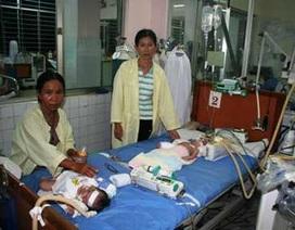 Nhiều trẻ mồ côi bị nhiễm khuẩn hô hấp nặng