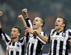 Juventus đả bại Milan, Del Piero đi vào lịch sử