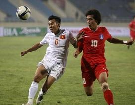 ĐT Việt Nam thúc thủ toàn diện trước U23 Hàn Quốc