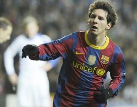 Messi đạt cột mốc 100 bàn dưới thời Guardiola