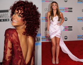 Dàn sao tụ họp tại lễ trao giải American Music Awards