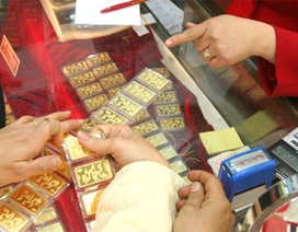 Vàng tăng hơn 10.000 đồng/chỉ, USD lên 21.200 VND