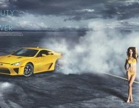 """Buổi chụp hình """"nóng bỏng"""" của Lexus LFA"""