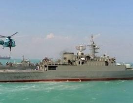 """""""Tàu chiến Iran sắp băng qua kênh đào Suez"""""""