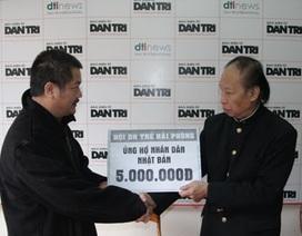 Đơn vị đầu tiên tham gia ủng hộ nhân dân Nhật Bản