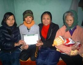 Thăm lại gia đình người phụ nữ bị vỡ xương sọ sau 7 ngày sinh con