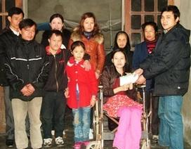 Mang niềm vui đến với gia đình anh Tuấn