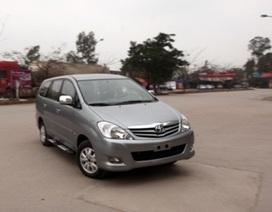 Từ 15/5: Bắt đầu triệu hồi hơn 43.000 xe Toyota tại Việt Nam