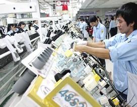 Vốn đầu tư nước ngoài giảm mạnh