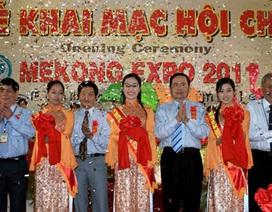 400 đơn vị tham gia hội chợ Mekong Expo Cần Thơ năm 2011