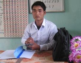 Chàng sinh viên nghèo hiếu học ở bản Pà Cà