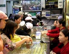 Giá vàng giảm xuống mức 3,785 triệu đồng/chỉ