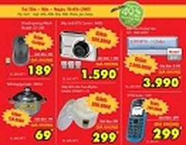 Thứ Tư hãy đến Media Mart mua hàng giá rẻ