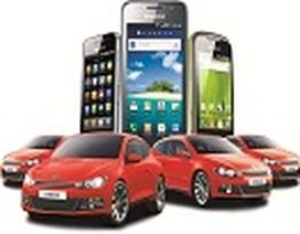 """Mua """"dế"""" Samsung Galaxy trúng """"xế"""" thể thao VW Scirocco đầu tiên"""