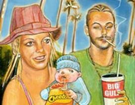 Britney Spears kiếm bộn tiền nhờ sinh em bé